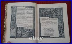(1905) BOXED ILLUSTRATED Roman Missal Christian Bible Antique Catholic RARE