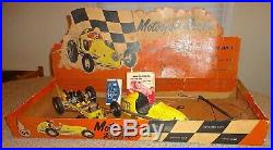 1940's OHLSSON & RICE MOTORJET RACER GAS TETHER CAR WithRARE ORIGINAL BOX & EXTRAS