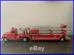 1950's Tonka RARE-ORIGINAL BOX 900-6 Fire Department 3PC SET