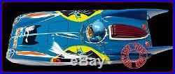 1960S ASC AOSHIN Tin Batman Batmobile Remote Control with Original Box JAPAN RARE