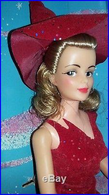 1965 Ideal Doll BEWITCHED DOLL Samantha red costume in ORIGINAL box RARE Vintage