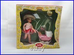 1966 EXTREMELY RARE Barbie Vtg. TUTTI BOXED SET WALKIN`MY DOLLY! 3552 NEW Box