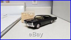 1967 MPC Pontiac GTO True Promo car VERY Rare BLACK ORIGINAL BOX, SUPERB 67 G. M