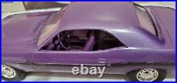 1970 Dodge Challenger R/t Promo Dealer Model Plum Crazy In Original Box Rare