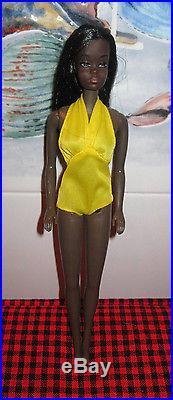 1975 Barbie VINTAGEBLACK AA RARE MALIBU CHRISTIE DOLL7745OSS+ORIGINAL BOXMIB