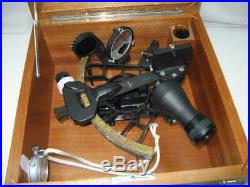 1978 Weems & Plath Sextant In Original Box with Keys Beautiful Condition Rare