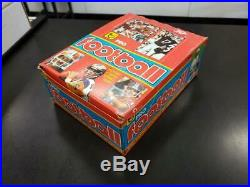 1981 Topps Football Original Unopened Box 36 Packs RARE 1979 Wrappers Montana