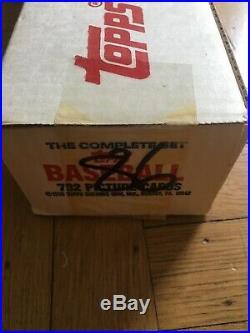 1985 Topps Baseball Complete Factory Set WHITE BOX Factory Sealed Rare Beauty