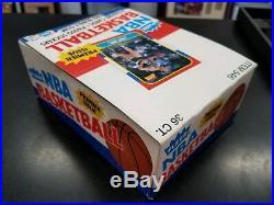 1986-87 Fleer BASKETBALL CARD Original Empty Display Box RARE
