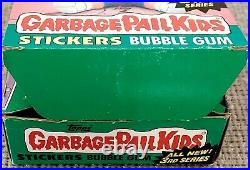 1986 Garbage Pail Kids Original 3rd Series 3 GPK OS3 (BOX & 5 WAX PACKS) RARE