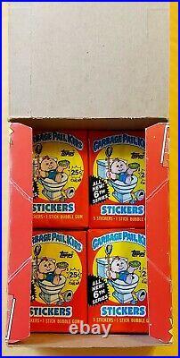 1986 Garbage Pail Kids Original 6th Series 6 GPK OS6 (BOX & 6 WAX PACKS) RARE