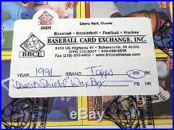 1991 Topps Baseball Desert Shield Box 36 Packs Bbce Authentic Sealed #x0236 Rare
