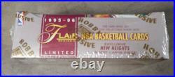 1995-96 Flair 2 Unopened SEALED Hobby Wax Box NBA Basketball 18 Packs RARE BOX