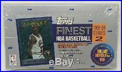 1995-96 Topps Finest Basketball Series 2 Factory Sealed Hobby Box RARE JORDAN