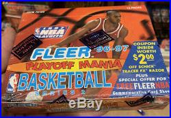 1996 96/97 Fleer Series 2 Factory Sealed Unopened Rare Box