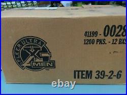 1996 Fleer X-men Retail Trading Card Factory Sealed Box (100 Packs)-rare