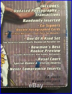 1997 /98 Topps Series 2 Stadium Club Basketball Hobby Box Factory RARE Cosigners