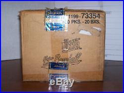 1997 Fleer Ultra Baseball Series 2 Factory Sealed Box 18 Packs Very Rare Box