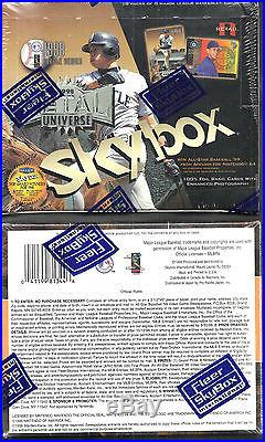 1998 Fleer Skybox Metal Universe Baseball Factory Sealed Box Very Rare $Jeter$