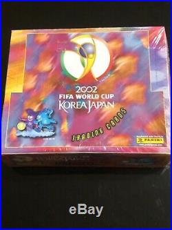 2002 World Cup Box Panini VERY RARE! Factory sealed