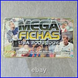 2003-04 Panini Megafichas Megacracks SEALED BOX Find Ronaldinho Iniesta Beckham