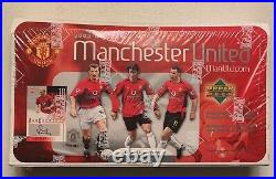 2003-2004 Upper Deck Manchester United Hobby Box Factory Sealed Box! Very Rare