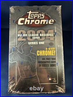 2004 Topps Chrome Baseball Series 1 04 Hobby Box Rare Molina Gold RC Refractors
