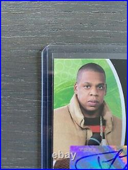 2005-06 Topps Luxury Box Autograph Jay Z 24/25 RARE ROOKIE CARD Clean