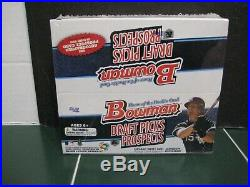 2009 Bowman Draft Picks and Prospects Box 24 Packs 7 Cards Per Pack Rare