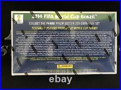 2014 PRIZM FIFA WORLD CUP SEALED HOBBY BOX RONALDO / MESSI 1st CARDS SOCCER RARE