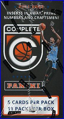 2015 2016 Panini COMPLETE NBA Blaster Box Packs Chance Rare Autograph Final Kobe