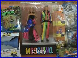 2016 MOSCHINO Barbie and Ken GiftSet Gold Label IN Hand rare in UK