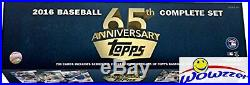 2016 Topps Baseball 65th Anniversary Limited Edition 700 Card Factory Set- Rare