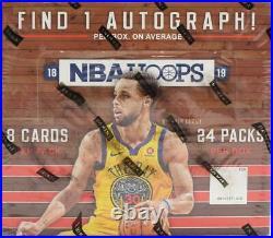 2018/19 Panini Hoops Basketball 24-pack Retail Box Very Rare
