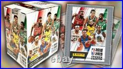 2018-19 Panini NBA Stickers Sealed Box Luka Doncic Rookie RARE 50 PACKS