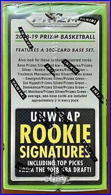2018-19 Prizm Basketball Mega Box! Rare 60 Card Box & Red Cracked Ice! Luka