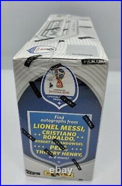 2018 Panini Prizm FIFA World Cup Unopened Hobby box Factory Sealed RARE
