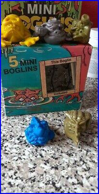 60 original Mini Boglins from 1991/1992 boxed VERY RARE and hard to get hold of