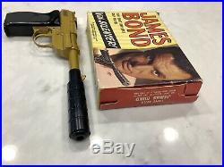 60s James Bond Lone Star Uk 100 Shot Repeater Cap Pistol Nm Original Rare Box