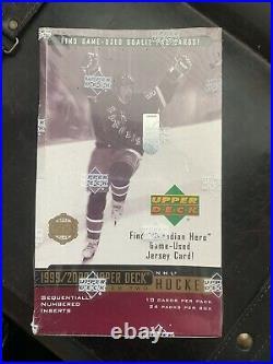 99/00 Upper Deck Hockey Series 2 Factory Sealed Hobby Box Rare