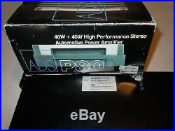 A/d/s ADS P80 4/2 CHANNEL AUDIOPHILE AMPLIFIER IN ORIGINAL BOX OLD SCHOOL RARE