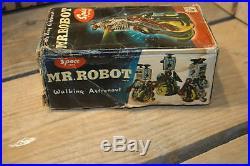 ATC Mr. Robot walking Astronaut made in Japan with Original Box! Rare