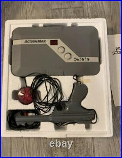 Action Max VHS Video Game System Console in Original Box Extremely Rare Vintage