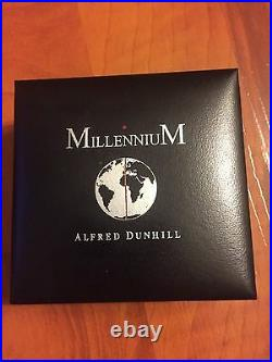 Alfred Dunhill Millennium Lapel Pin Limited Edition Original Box Geniune Rare