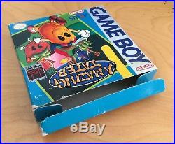 Amazing Tater Cib Nintendo Game Boy Original Complete In Box Ultra Rare