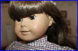 American Girl Doll Samantha, W Ger 1986 Tag, Rare White Body, Original Box! EUC