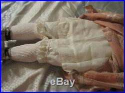 Antique German Bisque 30 Walkure Doll w Original Dress in Original Box RARE