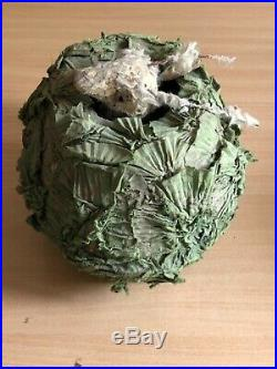 Antique Rare French Roullet et Decamps Rabbit in Cabbage Musical box Collectible