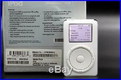 Apple iPod Classic 1st Generation M8697 5gb Windows Original Box Rare Vintage