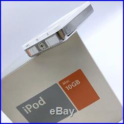 Apple iPod Classic 2nd Generation 10gb In Original Box Rare Vintage